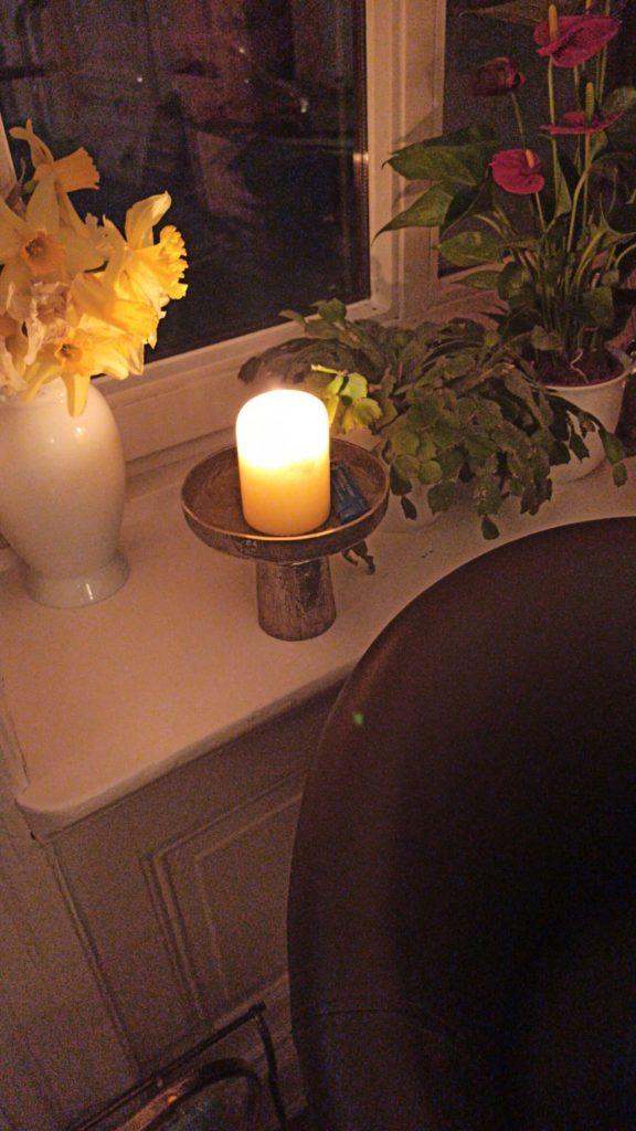Die Kerze im Fenster von Famile W. aus Hamburg